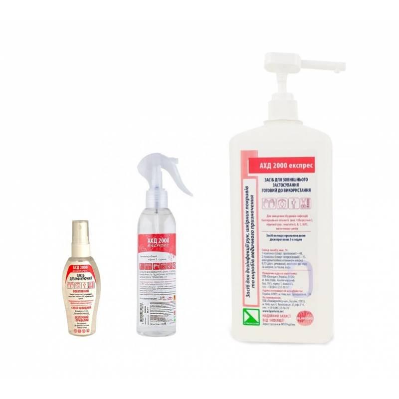 Купить АХД 2000 экспресс - средство для дезинфекции рук, кожи и медицинских приборов