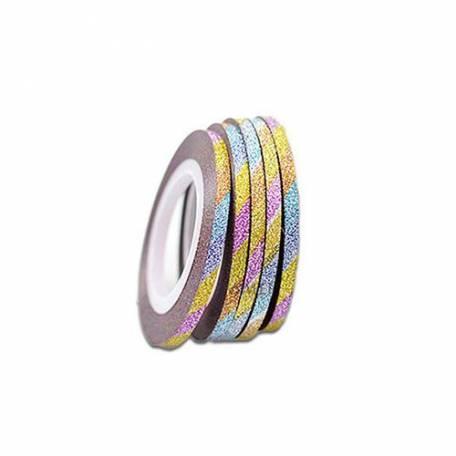 Купити Сахарная нить для ногтей Y.R.E. 0,6 мм радужная