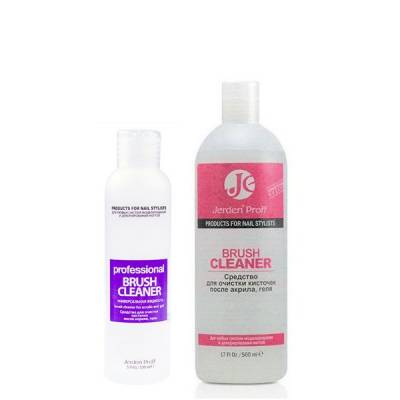 Жидкость для очищения кистей после акрила и геля Jerden Proff BRUSH CLEANER