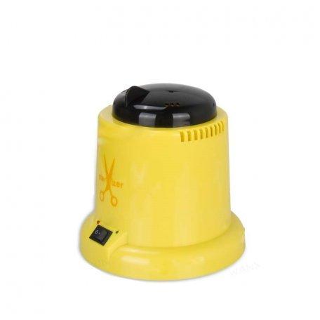 Стерилизатор кварцевый для маникюрных инструментов (пластиковый) желтый