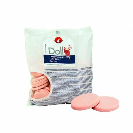 Купити Гарячий віск в дисках Xanitalia Doll Роза 1 кг
