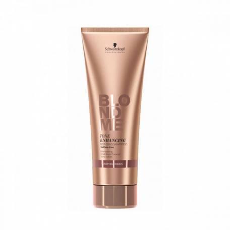 Купить Бондинг-шампунь для тёплых оттенков блонд Schwarzkopf Professional 250 мл