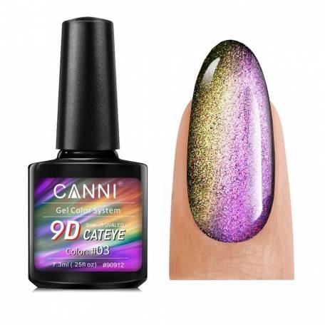 Купить Гель-лак Canni 9D Galaxy Cat Eye 03 7,3 мл