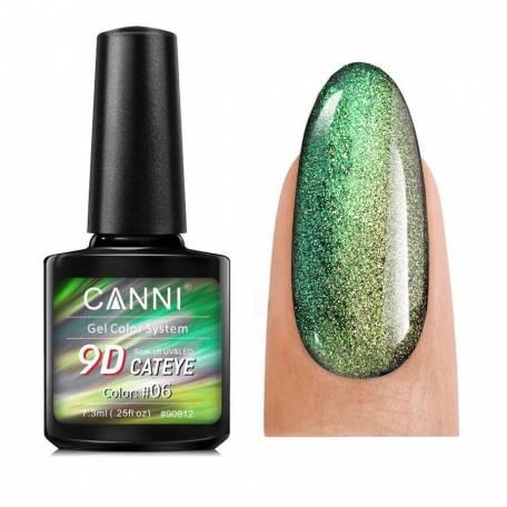 Купить Гель-лак Canni 9D Galaxy Cat Eye 06 7,3 мл