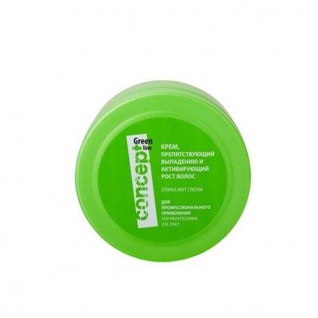 Крем, препятствующий выпадению и активирующий рост волос Concept 300 мл