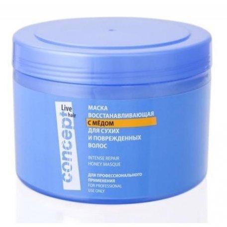 Маска для волос Concept восстанавл. с медом для сухих и поврежден. волос Intese repair Honey masк 50