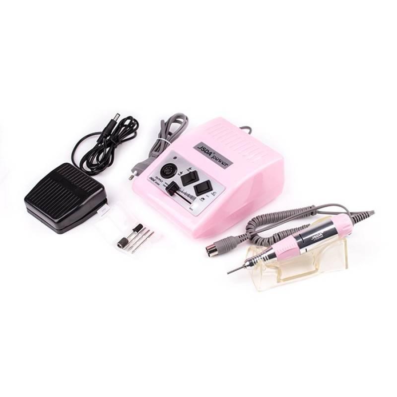 Купить Фрезер для маникюра JSDA JD-500 30000 об/мин (розовый)
