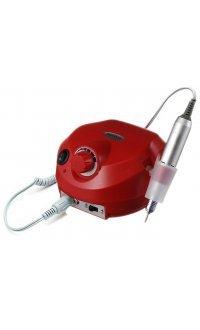 Фрезер для манікюру і педикюру Drill Pro Nail Drill 35000 об/хв (червоний)