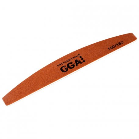 Пилка GGA Professional Полумесяц Золото 100/180