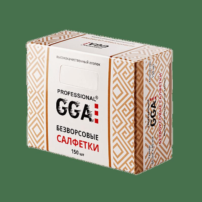 Купить Безворсовые салфетки GGA Professional 150шт/уп.