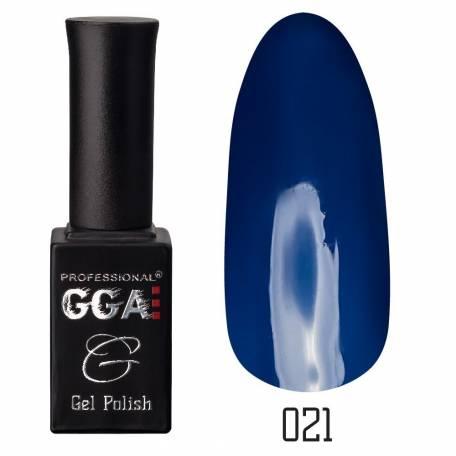 Купити Гель-лак GGA №021 DARK BLUE, 10 мл