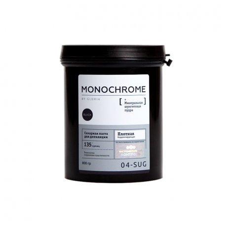 Сахарная паста для депиляции MONOCHROME плотная корректирующая, 800 гр