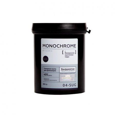 Сахарная паста для депиляции MONOCHROME ультрамягкая, 800 гр