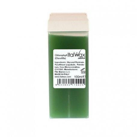 Воск в кассетах - Воск в картридже ItalWax Хлорофил, 100 мл