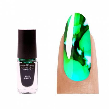 Купить Акварельная краска Komilfo Aqua Drops Green 010 5 мл