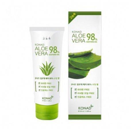 Гель увлажняющий KONAD Aloe Vera 98% 100 мл