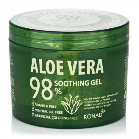 Гель увлажняющий KONAD Aloe Vera 98% 500 мл