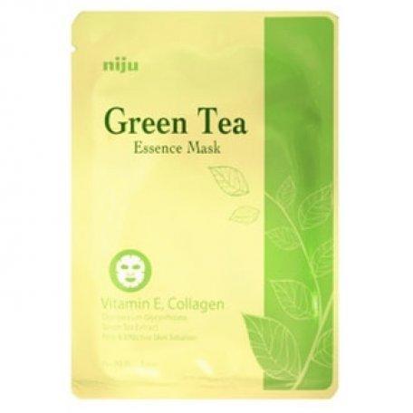 Купить Маска-салфетка для лица KONAD Green Tea Essence Mask 17мл