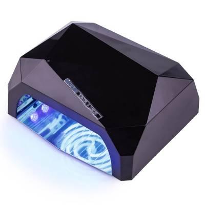 УФ LED+CCFL лампа (таймер 10, 30, 60сек) 36 Вт (черный)