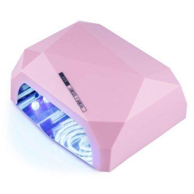 УФ LED+CCFL лампа (таймер 10, 30, 60 сек) 36 Вт (розовая)