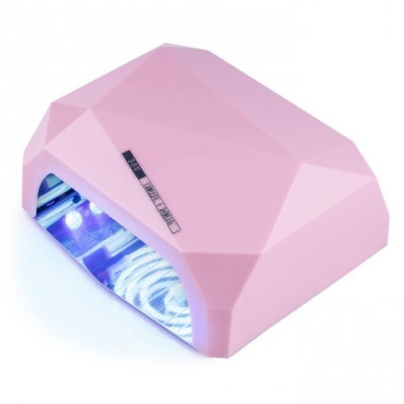Купити УФ LED+CCFL лампа (таймер 10, 30, 60 сек) 36 Вт (рожева)