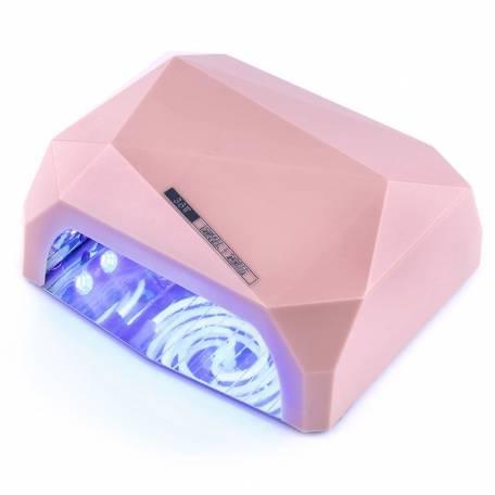 Купить УФ LED+CCFL лампа (таймер 10, 30, 60 сек) 36 Вт (бежевая)