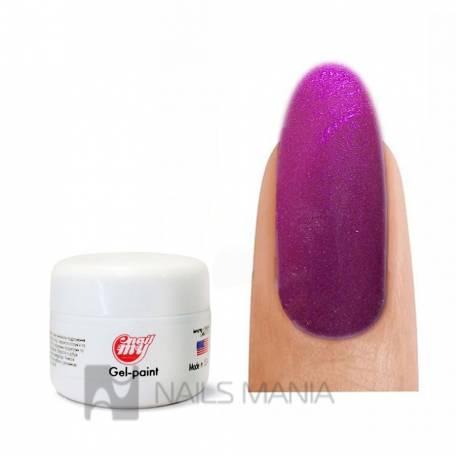 Купити Гель фарба My Nail №21 (яскравий фіолетовий з микроблеском), 5 ml