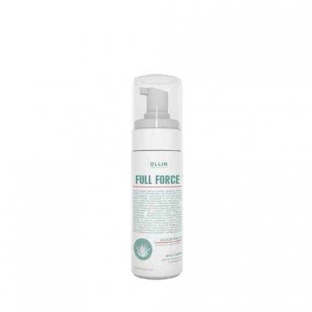 Мусс-пилинг для волос и кожи головы с экстрактом алоэ OLLIN 160 мл