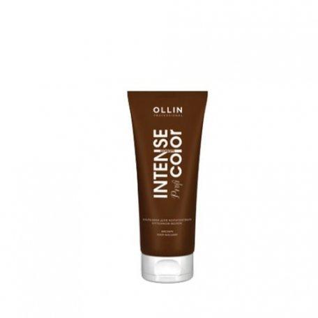 Бальзам для коричневых оттенков волос OLLIN 200 мл