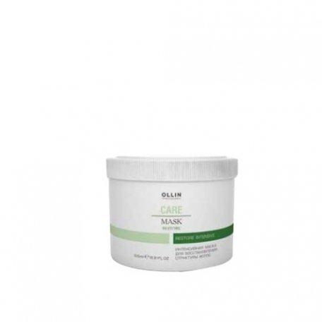 Интенсивная маска для восстановления структуры волос OLLIN 500 мл