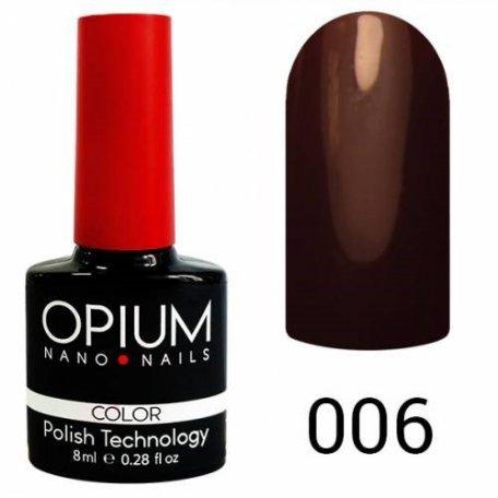 Гель-лаки OPIUM - Гель-лак Opium №006 8 мл