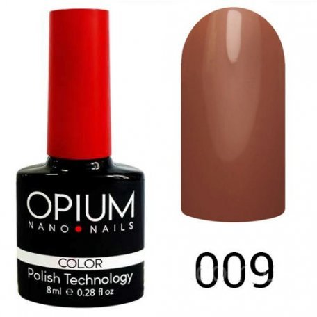 Гель-лаки OPIUM - Гель-лак Opium №009 8 мл