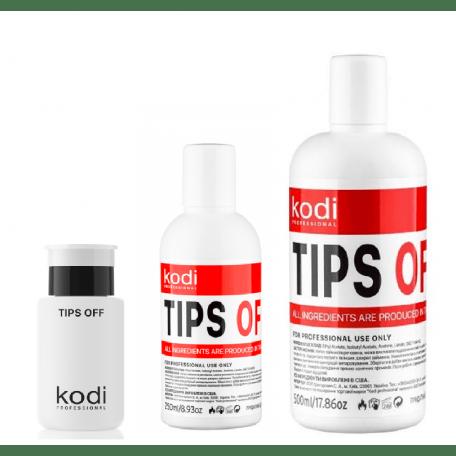 Купить Жидкость для снятия гель лака/акрила Kodi Professional Tips Off