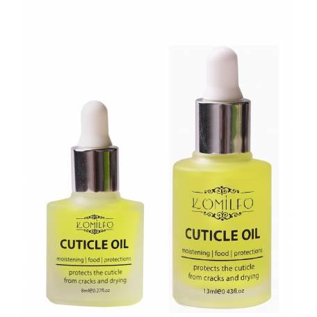 Купить Масло для кутикулы с пипеткой Komilfo Citrus Cuticle Oil