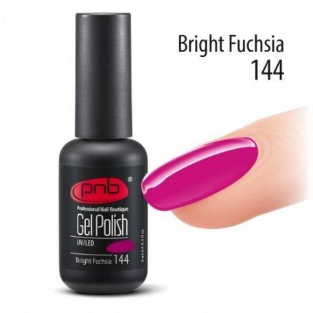 Гель-лак PNB Bright Fuchsia 144 (Фуксия), 8 мл