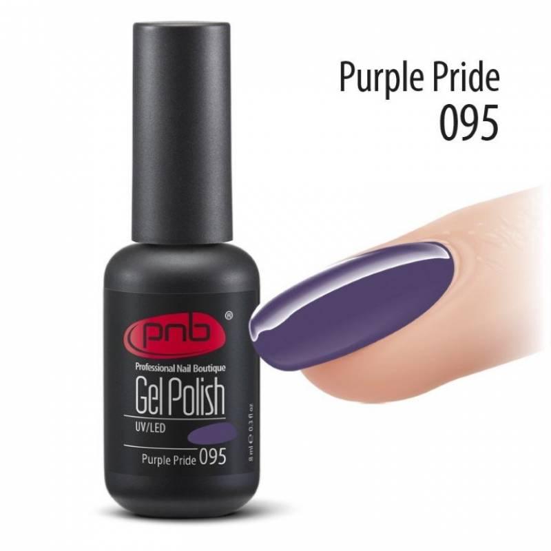 Купить Гель-лак PNB 095 Purple Pride 8 мл