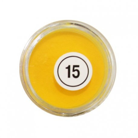 Акриловая пудра My Nail №15, желтая 2 г