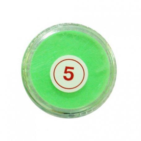 Акриловая пудра My Nail №5, салатовая 2 г