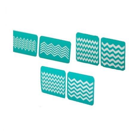 Трафареты для аэрографии - Трафареты-наклейки для nail-art №3
