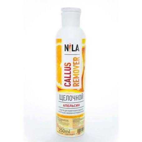 Средство для педикюра Nila Callus remover щелочной (Апельсин) 250 мл
