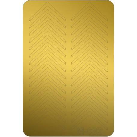 Купити Металізовані наклейки для нігтів Canni 002 (золото)