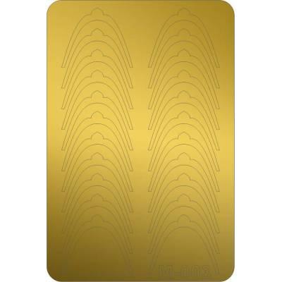 Металлизированные наклейки для ногтей Canni 003 (золото)