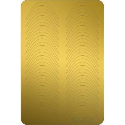 Металлизированные наклейки для ногтей Canni 005 (золото)