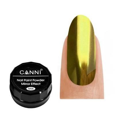 Зеркальная пудра CANNI 006 (золото), 2 г