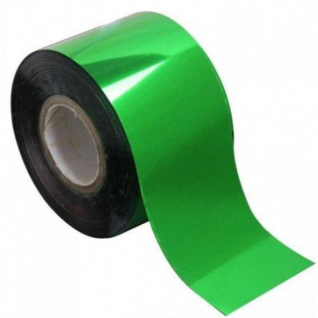 Фольга для литья зеленая 1м., F02