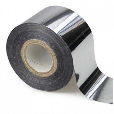 Фольга для литья серебро зеркальное 1 м., F11