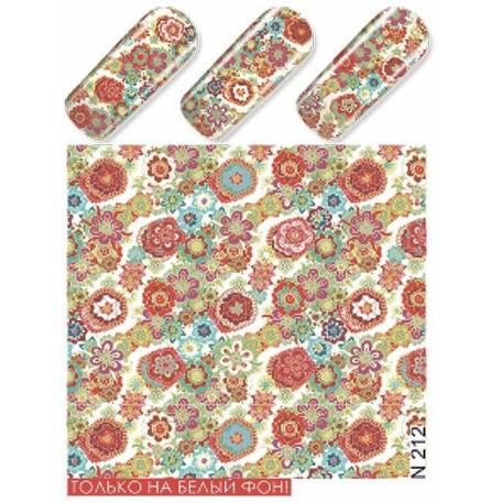 Купити Слайдер дизайн для нігтів N 212