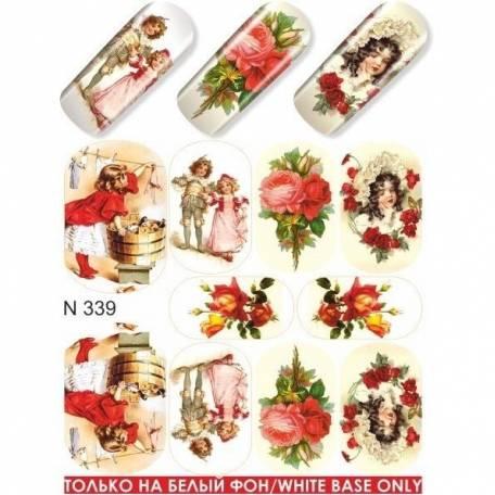 Купити Слайдер дизайн для нігтів N 339