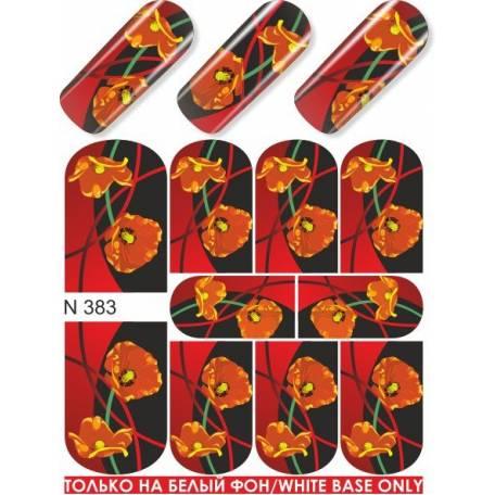Купити Слайдер дизайн для нігтів N 383