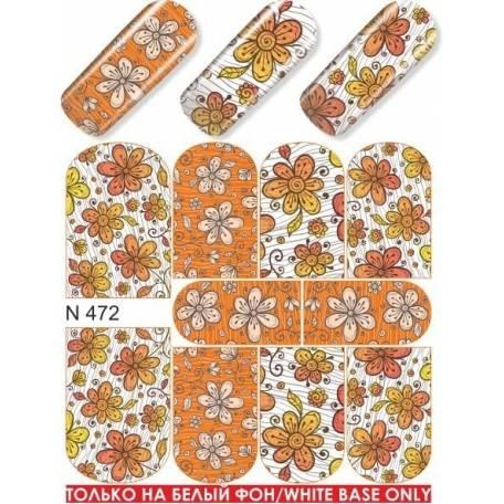 Купити Слайдер дизайн для нігтів N 472